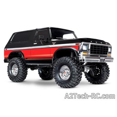 TRX-4 FORD BRONCO - Rouge et Noir TRAXXAS_82046-4-RED