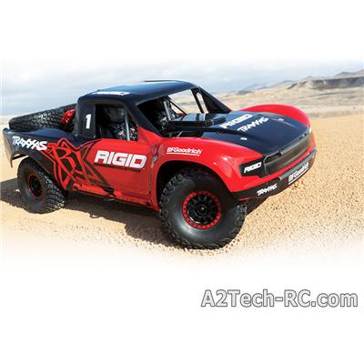 UNLIMITED DESERT RACER - 4x4 -VXL - TSM - RIGID EDITION 85076-4-ROUGE_TRAXXAS