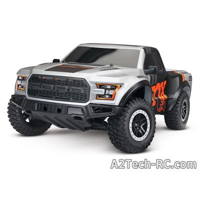 FORD RAPTOR F-150 - 4x2 - 1/10 BRUSHED TQ 2.4Ghz - iD TRAXXAS_58094-1-FOX