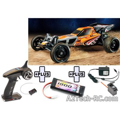 Lot RACING FIGHTER (Racer 3S+Servo+Accu+Chargeur) TAMIYA_Réf_58628L