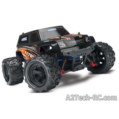 LATRAX TETON - 4x4 - 1/18 - Orange - Brushed TQ 2,4 Ghz 76054-1-ORNG_TRAXXAS