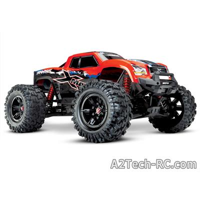 X-MAXX 4x4 ROUGE X - 8S - BRUSHLESS - WIRELESS - ID - TSM 77086-4-REDX_TRAXXAS