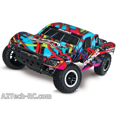 SLASH 4x2 - HAWAIIAN - 1/10 BRUSHED TQ 2.4ghz - iD TRAXXAS_58034-1-HAW