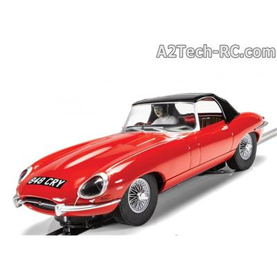 Jaguar E-Type 848CRY Red SCALEXTRIC_Réf_C4032