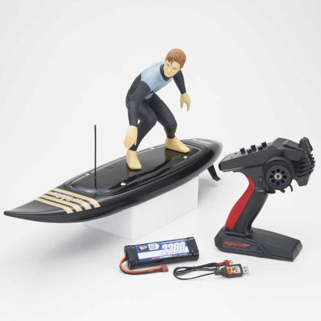 Kyosho RC Surfer 4 RC Electric Readyset (KT231P+) T2 Noir KYOSHO_Réf_40110T2B