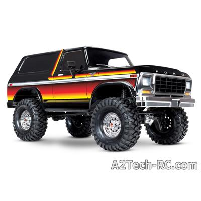 TRX-4 FORD BRONCO - SUNSET (Dégradé Noir-Rouge-orange) TRAXXAS_82046-4-SUN